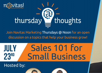 Thursday Thoughts A Live Discussion About Sales For Small Businesses